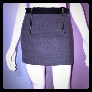 MILLY • Wool Micro Mini Skirt / *12y =size 24/0